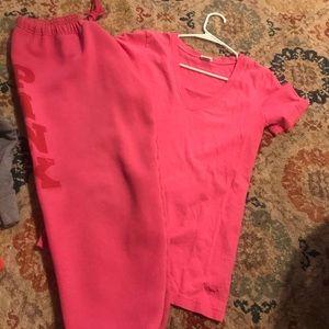 Vs pink set